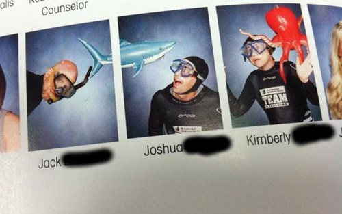 Funny Yearbook Pages: WriteThinker.com