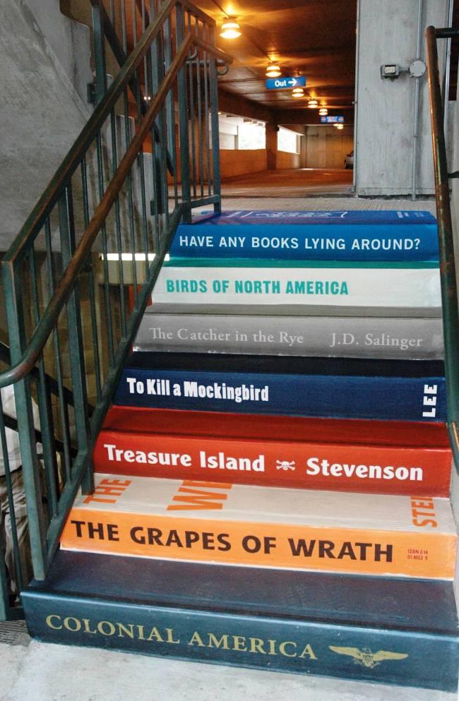 bookcasestaircase