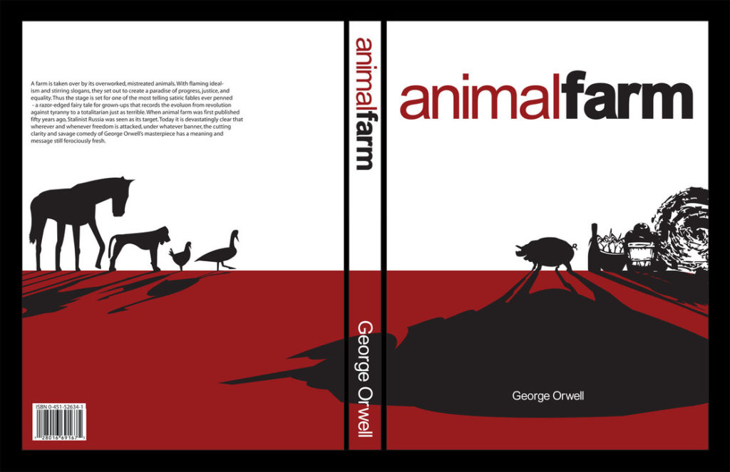 the shifting of power in animal farm by george orwell In late 1943, orwell began working on the novel animal farm, a satire that was aimed at the soviet union, which was a major anti-fascist ally of britain at this time this was a risky decision since the outcome of the war was still uncertain and a british publication of a critique of the soviet union could cause tension between the allies.