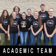 Academic Team Places Third in MTC Tournament